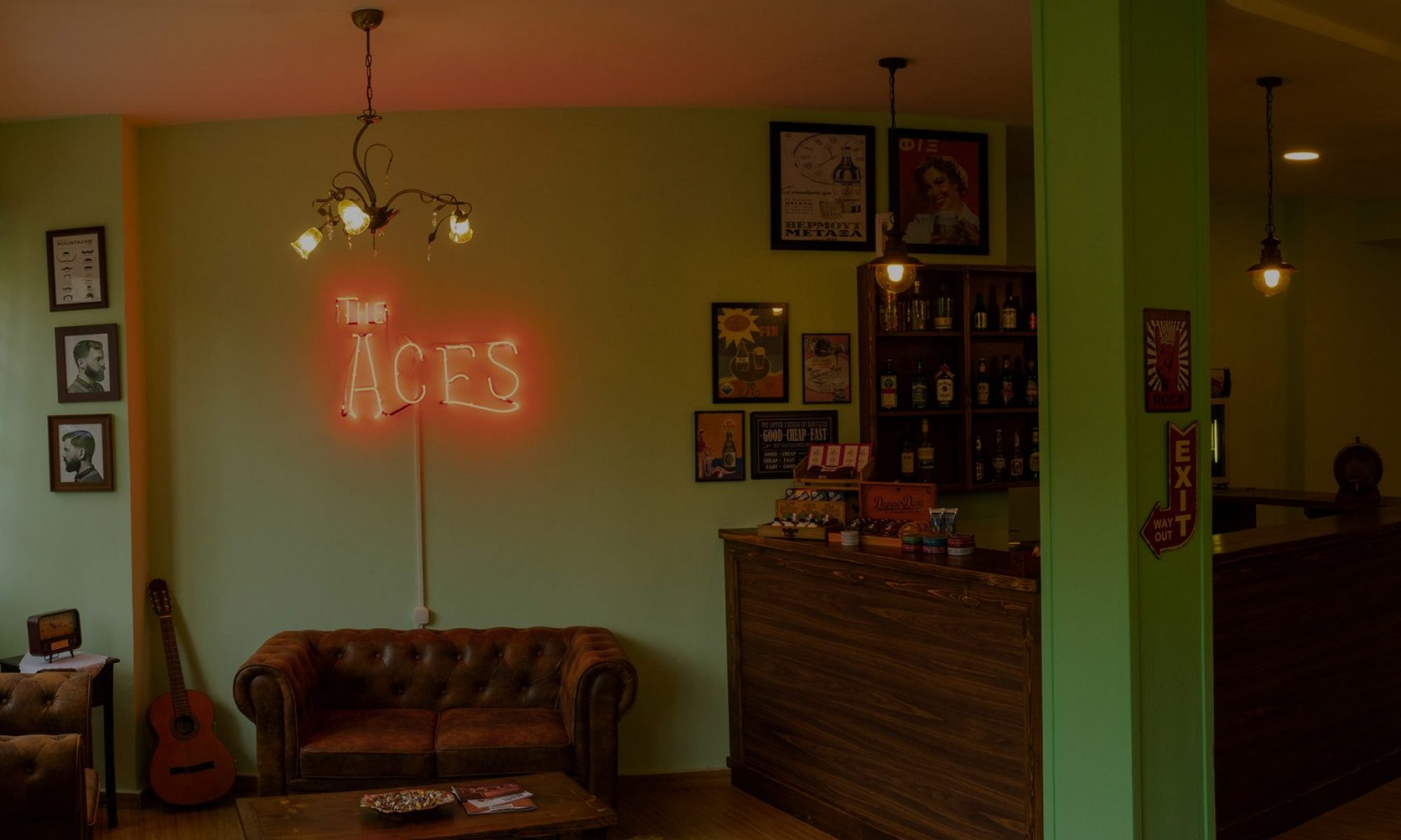 The ACES BARBERSHOP